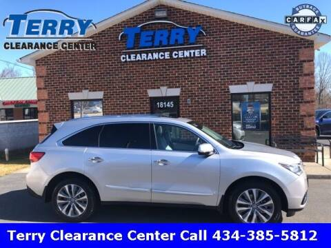2014 Acura MDX for sale at Terry Clearance Center in Lynchburg VA
