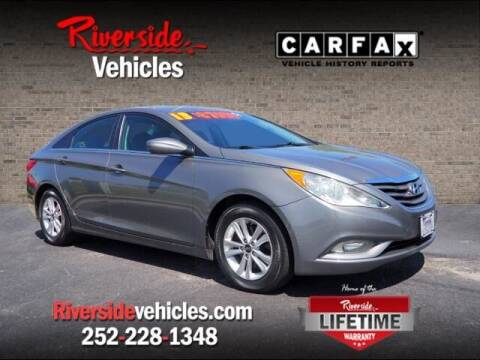 2013 Hyundai Sonata for sale at Riverside Mitsubishi(New Bern Auto Mart) in New Bern NC