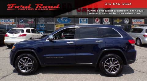 2017 Jeep Grand Cherokee for sale at Ford Road Motor Sales in Dearborn MI