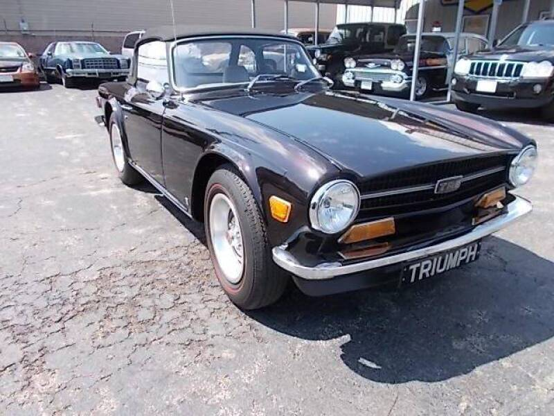 1971 Triumph TR6 for sale at C & C AUTO SALES in Riverside NJ