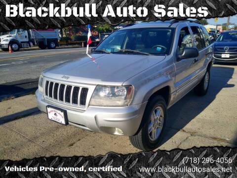 2004 Jeep Grand Cherokee for sale at Blackbull Auto Sales in Ozone Park NY