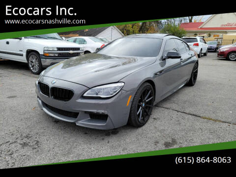 2016 BMW 6 Series for sale at Ecocars Inc. in Nashville TN