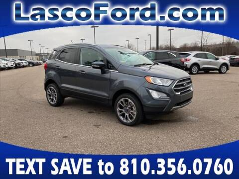 2020 Ford EcoSport for sale at Lasco of Grand Blanc in Grand Blanc MI