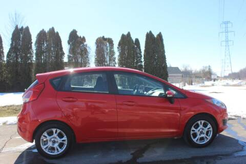 2015 Ford Fiesta for sale at D & B Auto Sales LLC in Washington Township MI
