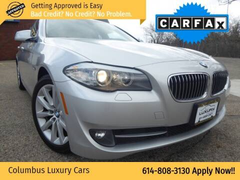 2011 BMW 5 Series for sale at Columbus Luxury Cars in Columbus OH