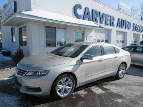 2015 Chevrolet Impala for sale at Carver Auto Sales in Saint Paul MN