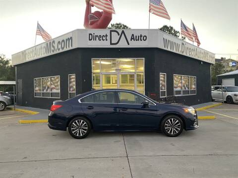 2018 Subaru Legacy for sale at Direct Auto in D'Iberville MS
