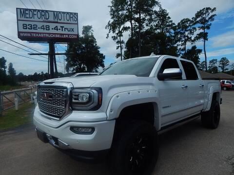 2017 GMC Sierra 1500 for sale at Medford Motors Inc. in Magnolia TX