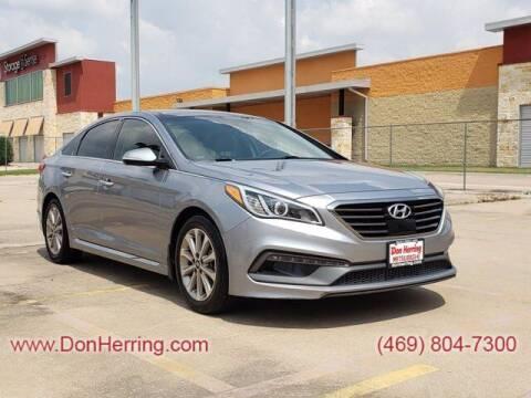 2016 Hyundai Sonata for sale at DON HERRING MITSUBISHI in Irving TX