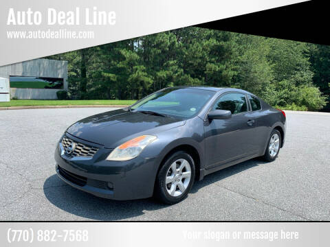 2008 Nissan Altima for sale at Auto Deal Line in Alpharetta GA