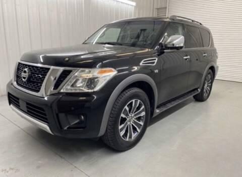 2017 Nissan Armada for sale at JOE BULLARD USED CARS in Mobile AL