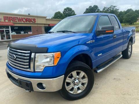 2012 Ford F-150 for sale at Gwinnett Luxury Motors in Buford GA