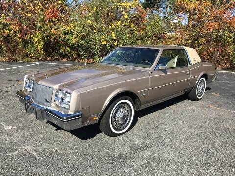 1985 Buick Riviera for sale at Clair Classics in Westford MA