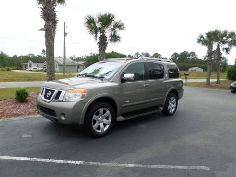 2008 Nissan Armada for sale at First Choice Auto Inc in Little River SC