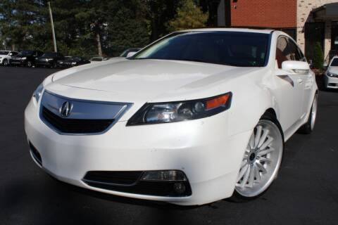 2012 Acura TL for sale at Atlanta Unique Auto Sales in Norcross GA