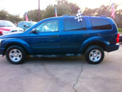 2004 Dodge Durango for sale at Under Priced Auto Sales in Houston TX