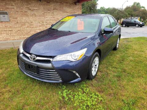 2015 Toyota Camry for sale at Murdock Used Cars in Niles MI
