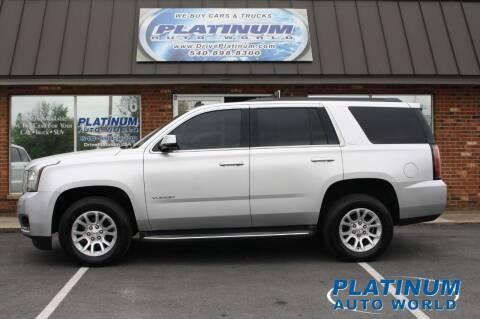2015 GMC Yukon for sale at Platinum Auto World in Fredericksburg VA