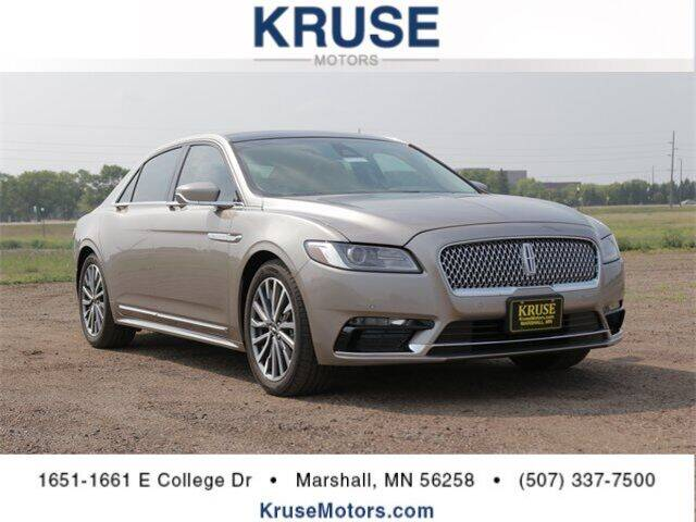 2019 Lincoln Continental for sale in Marshall, MN