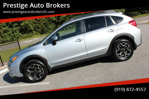 2014 Subaru XV Crosstrek for sale at Prestige Auto Brokers in Raleigh NC
