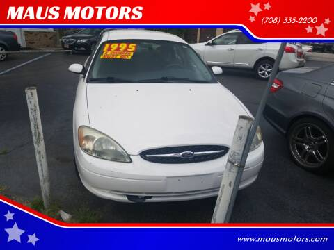 2003 Ford Taurus for sale at MAUS MOTORS in Hazel Crest IL