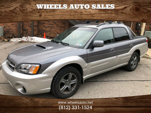 2005 Subaru Baja for sale at Wheels Auto Sales in Bloomington IN