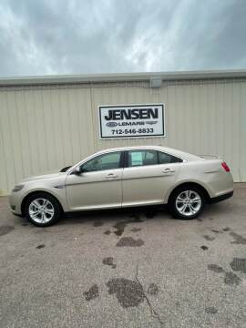 2018 Ford Taurus for sale at Jensen's Dealerships in Sioux City IA