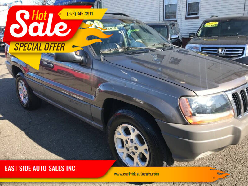 2000 Jeep Grand Cherokee for sale at EAST SIDE AUTO SALES INC in Paterson NJ
