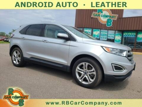 2017 Ford Edge for sale at R & B Car Co in Warsaw IN