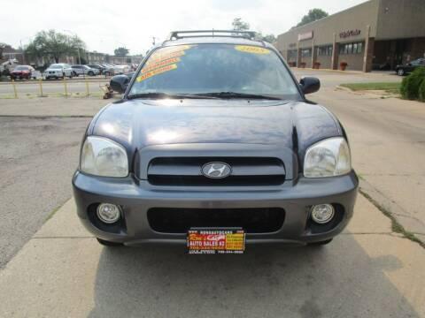 2005 Hyundai Santa Fe for sale at RON'S AUTO SALES INC in Cicero IL