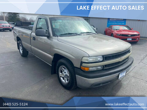 2002 Chevrolet Silverado 1500 for sale at Lake Effect Auto Sales in Chardon OH