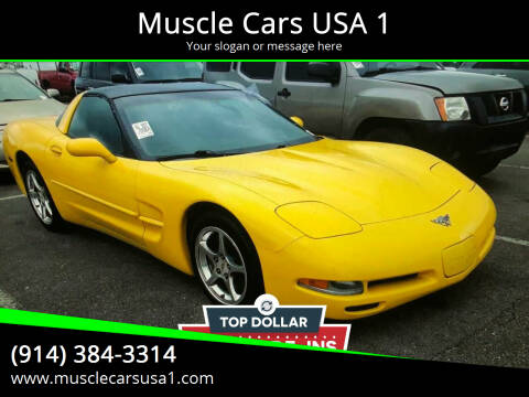 2003 Chevrolet Corvette for sale at Muscle Cars USA 1 in Murrells Inlet SC