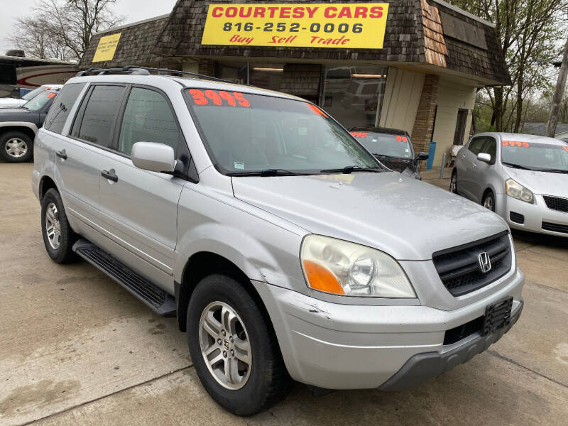 2004 Honda Pilot for sale at Courtesy Cars in Independence MO
