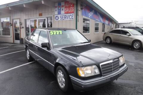 1995 Mercedes-Benz E-Class for sale at 777 Auto Sales and Service in Tacoma WA
