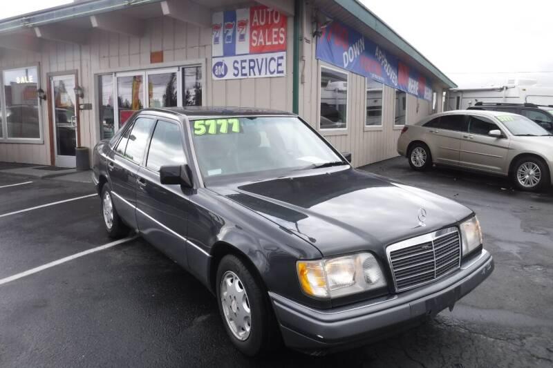 1995 Mercedes-Benz E-Class for sale at 777 Auto Sales and Service in Tacoma WA
