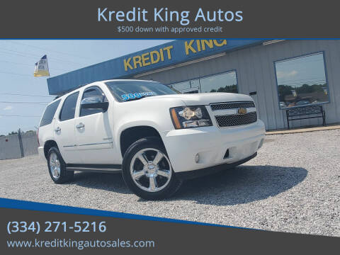 2012 Chevrolet Tahoe for sale at Kredit King Autos in Montgomery AL