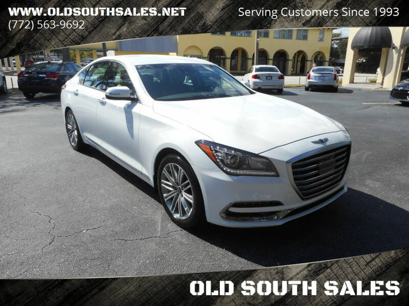 2018 Genesis G80 for sale at OLD SOUTH SALES in Vero Beach FL