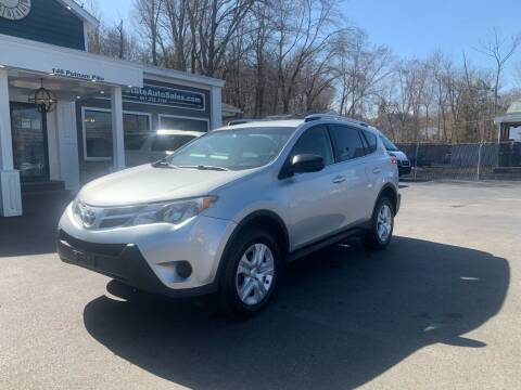 2015 Toyota RAV4 for sale at Ocean State Auto Sales in Johnston RI