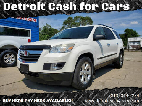 2008 Saturn Outlook for sale at Detroit Cash for Cars in Warren MI