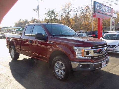 2019 Ford F-150 for sale at Comet Auto Sales in Manchester NH