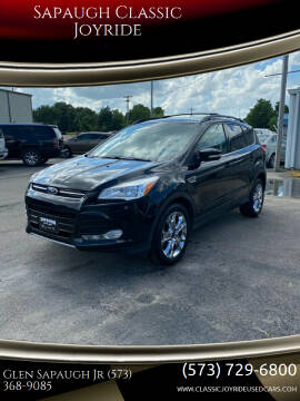 2013 Ford Escape for sale at Sapaugh Classic Joyride in Salem MO
