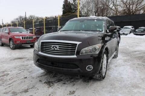 2011 Infiniti QX56 for sale at F & M AUTO SALES in Detroit MI