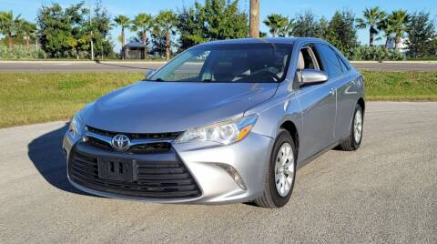 2015 Toyota Camry for sale at FLORIDA USED CARS INC in Fort Myers FL