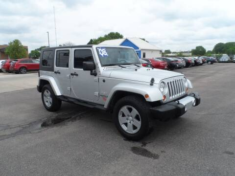 2008 Jeep Wrangler Unlimited for sale at America Auto Inc in South Sioux City NE