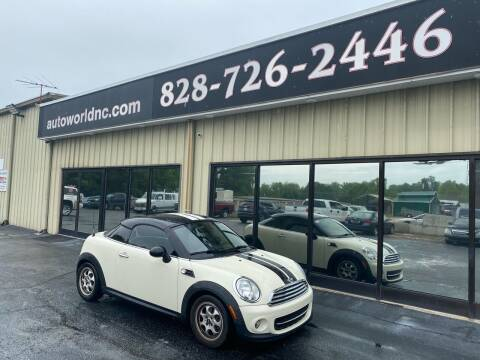 2013 MINI Coupe for sale at AutoWorld of Lenoir in Lenoir NC