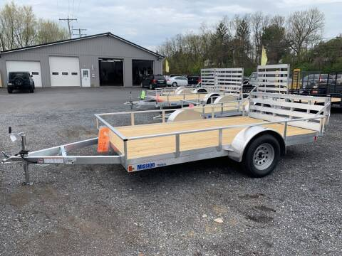 2020 MISSION 6-1/2 X12 ALUMINUM for sale at Smart Choice 61 Trailers in Shoemakersville PA