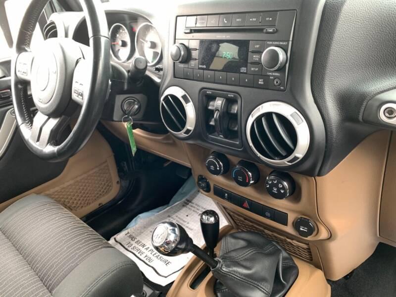 2011 Jeep Wrangler Unlimited 4x4 Sahara 4dr SUV - Newark NJ