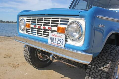 1969 Ford Bronco for sale at Precious Metals in San Diego CA