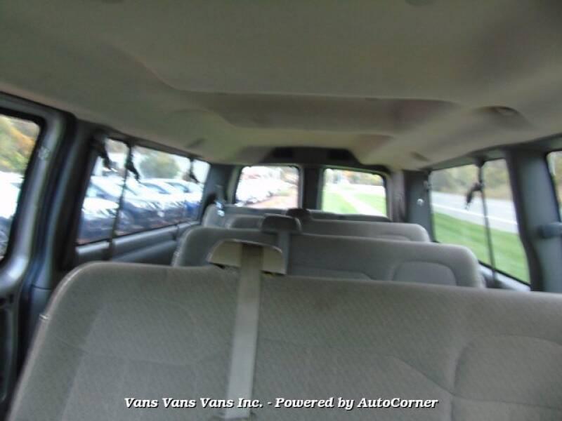 2009 Chevrolet Express Passenger G3500 LT Extended 15 Pass Wagon - Blauvelt NY