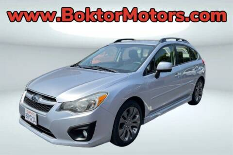 2012 Subaru Impreza for sale at Boktor Motors in North Hollywood CA